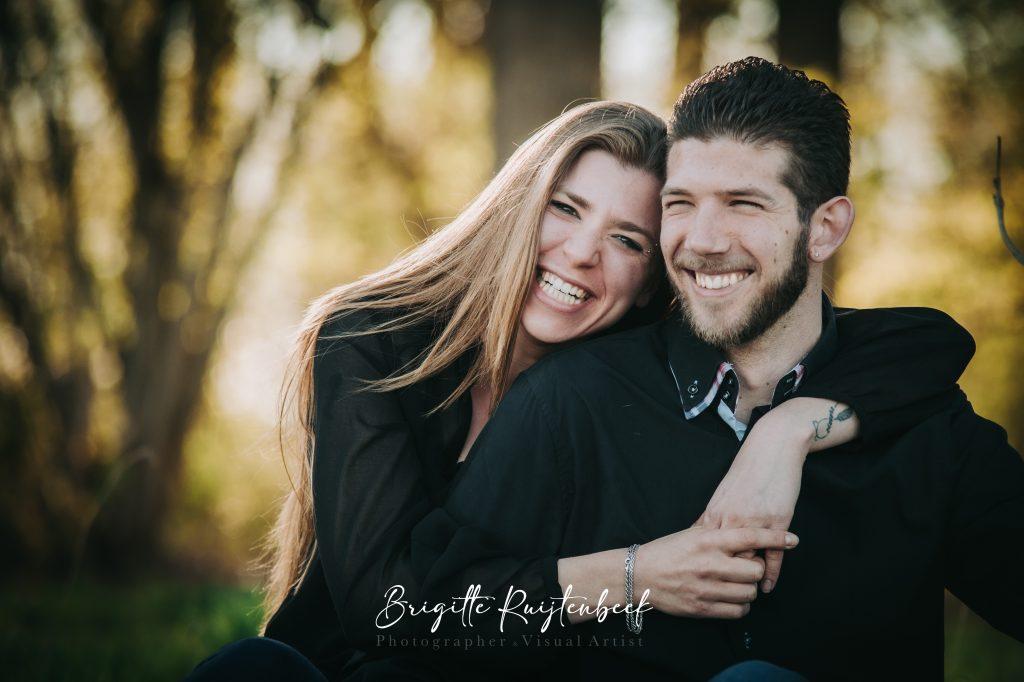 portret man en vrouw